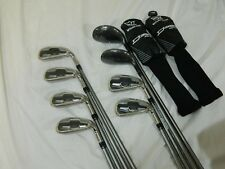 New RH Wilson Staff D350 Iron set 4h-GW Irons UST Elements Graphite Senior flex