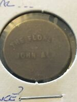 Vintage Token, The Flore... Good For 5 Cents In Trade Vintage Coin T16
