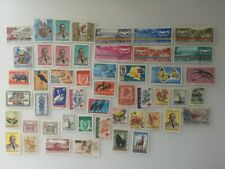 50 Different Belgian Congo Stamp Collection