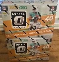 2020 Optic Football Single Pack from a Mega box.Joe Burrow/Herbert Rookie?*Read*