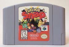 Nintendo 64 N64 Pokemon Snap Video Game Cartridge