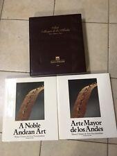 1989 - ARTE MAYOR DE LOS ANDES - 2 VOLUMI - MUSEO CHILENO DE ARTE PRECOLOMBINO