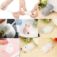 Cute Various Squishy Cat Squeeze Healing Fun Kids Kawaii Toy Stress Reliever Toy