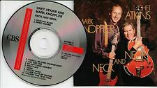 Chet Atkins And Mark Knopfler ‎– Neck And Neck CD Album 1990