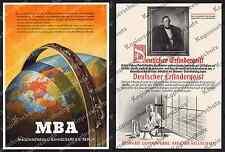 Or. Advertising Orenstein & Koppel MBA Berlin Reich Railway Steam Locomotive SEMPERIT Vienna 1944