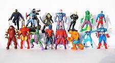 10psc 3-3,5 cm random Avengers Marvel Spiderman boys Party Favor mini figures