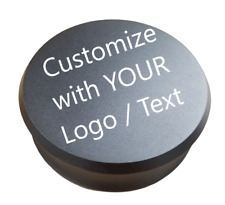 Custom Vinyl Record Weight Stabilizer, Low Profile, Leatherette Pad
