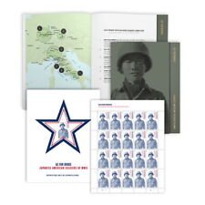USPS New Go for Broke: Japanese American Soldiers of WWII Collectible Set