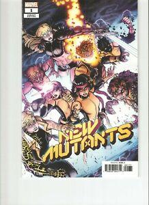 New Mutants  #1 (2019) 1:25 Bradshaw Variant (9.4)