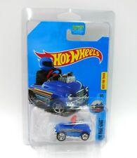 Hot Wheels HW Ride-Ons Pedal Driver Treasure Hunt Blue Toy Scale 1:64 Stripes