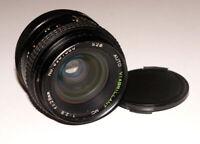 Rare Wide Angle MC Viabrillant 28 mm F2.8 2.8/28 lens Fujica mount