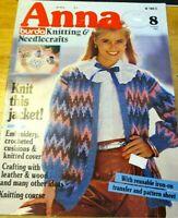 ANNA BURDA KNITTING & NEEDLECRAFTS M1900 AUGUST 1982