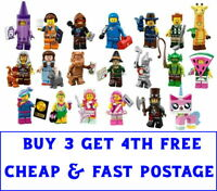 THE LEGO MOVIE 2 MINIFIGURES [BUY 3 GET 4TH FREE] - LEGO 71023