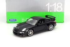 Porsche 911 - 997 GT3 Noir 1/18 Welly