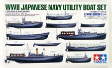 TAMIYA 1:350 KIT IMBARCAZIONI NAVI WWII JAPANESE NAVY UTILITY BOAT SET  78026