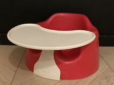 Bumbo Baby Seat With Tray - Red