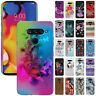 For LG V40 ThinQ 6.4 inch Colorful Design Protector Hard Back Case Cover Skin