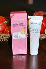 1 COLLAGEN  GLUTATHIONE PEELING CREAM REMOVE DEAD SKIN BLEMISHES BLACKHEADS 100g