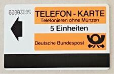 Testgebiet Goslar 1984 Autelca Testkarte 5 Einheiten ENGE NR. ungebraucht VOLL