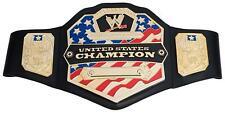 WWE United States Championship Leather Belt Metallic Medallions Kids Ages 8 Year