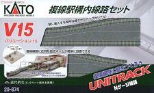 Set Standard N Gauge Model Railway Tracks