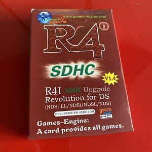 R4i Revolution Card V1.4  Nintendo DS SDHC Card - R4 Card - Boxed - Never Used