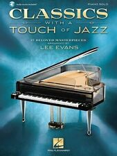 Classics With A Touch Of Jazz - Piano Solo Book *NEW*