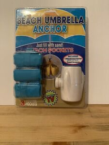 Brand New Beach Umbrella Anchor Sealed (Package Damage)