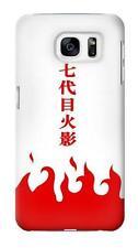 Naruto 7th Hokage Cloak White Glossy Phone Case for Samsung Galaxy S7