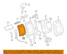 GM OEM Front Seat-Seat Back Panel Trim 20845937