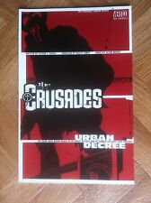 THE CRUSADES : URBAN DECREE (VERTIGO) SOFTCOVER  NEAR MINT (W6)