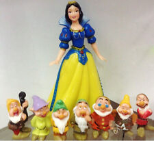 Snow White and the Seven Dwarfs Toy Figure Figurine Kid Toys Gift Set Collection