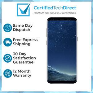 Samsung Galaxy S8 64GB G950F Black (Great Condition) 12 Month Warranty