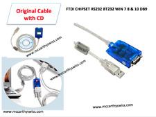 Nuevo USB CABLE RS232 485 DB9 Macho Adaptador Convertidor de puerto serial de 9 Pines Windows 7 8