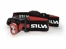 SILVA Camping & Hiking Head Torches with 4 Batteries