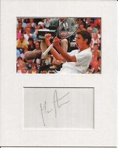 Mario Ancic tennis signed genuine authentic autograph signature and photo AFTAL
