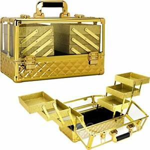 Ver Beauty 3.8mm Armored Acrylic Makeup Case Jewelry Portable Travel Art Craf...
