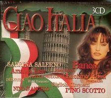 CIAO ITALIA - 3 CD BOX SET - NEW - SABRINA SALERNO / BANCO / AMANNA LEAR...more