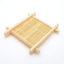 Mini Japanese Asian Coaster Bamboo Tea Tray Place Mat Teacup Sake