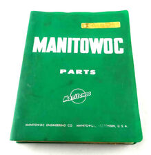 Manitowoc 4100W Crane Parts Manual Book Pre-owned Free Shipping