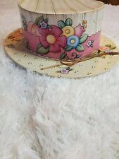 Mary Engelbreit Hat Box Peach and Black