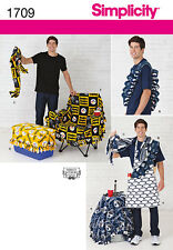 Sew & Make Simplicity 1709 SEWING PATTERN - Mens TAILGATING SPORT ACCESSORIES