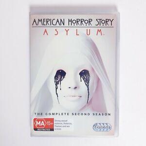 American Horror Story Asylum Season 2 DVD Region 4 AUS TV Series Free Postage