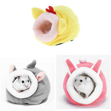 Set of 3 Chinchilla Hedgehog Guinea Pig Ferret Bed Accessories Cage Toys