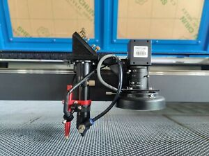 150W HQ1490 CO2 Vision Laser Cutting Machine/CCD Camera Contour Mark Cut Acrylic