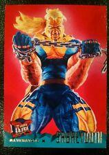 1995 Fleer Ultra X-Men Trading Card - Sabertooth #63 - Alternate X