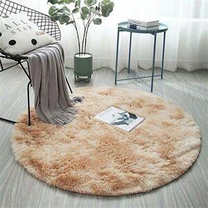 Round Carpet Colorful Rug Living Room Bedroom Rugs Fur Mats Hanging Basket Mat