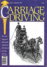 Carriage Driving Magazine Aug/Sept 1994