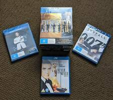 JAMES BOND 50 - COMPLETE BLU RAY COLLECTION - SKYFALL - SPECTRE - NEW SEALED