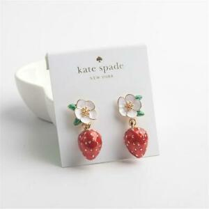 Kate Spade New York  Perfect Picnic Strawberry Drop Earrings